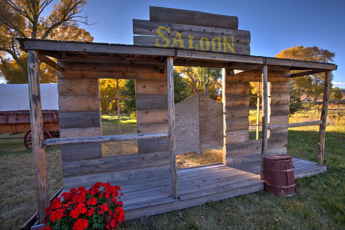 """Saloon"" at Twin Rivers Cabins and RV Park"
