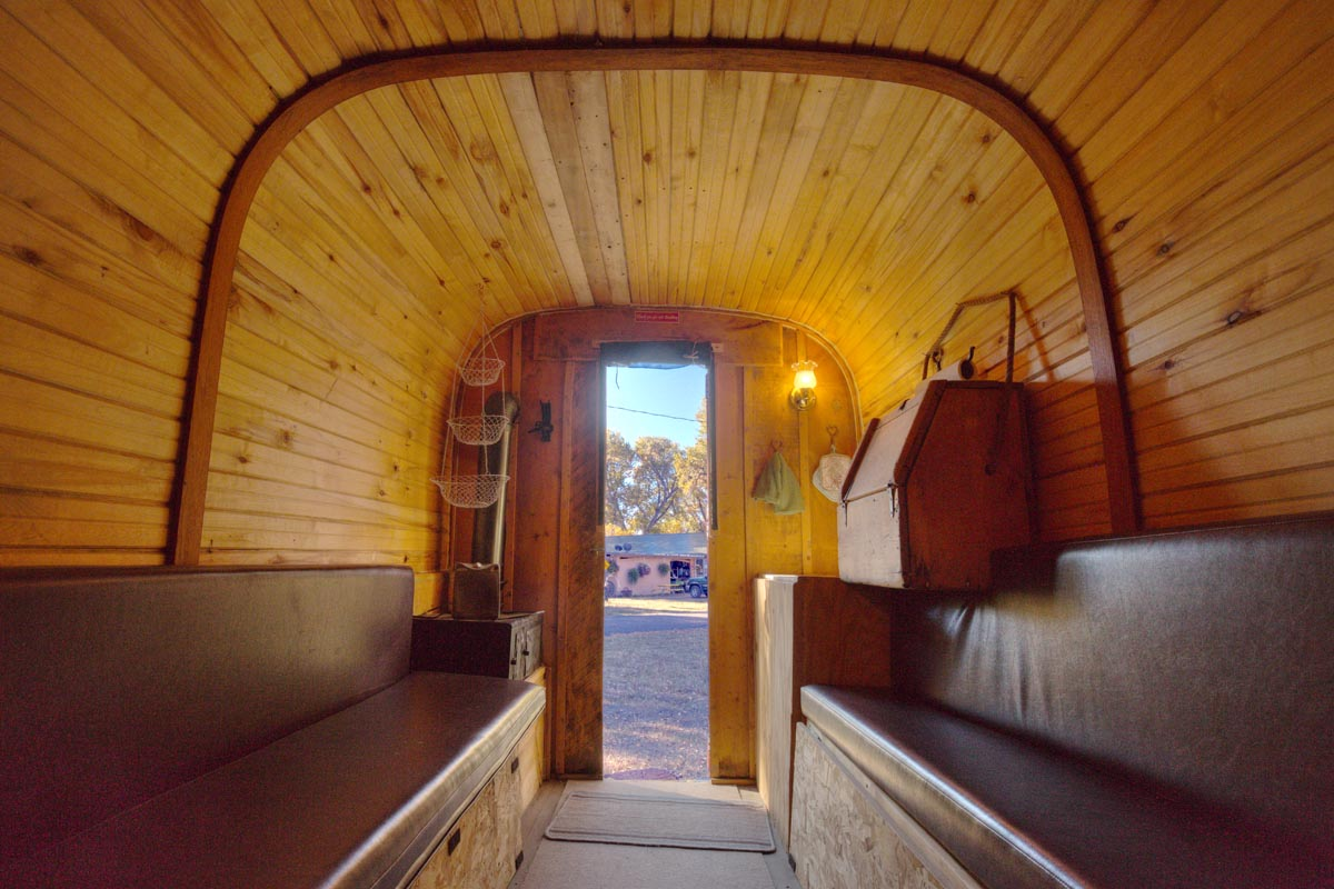 Sheep Herder's Wagon Interior