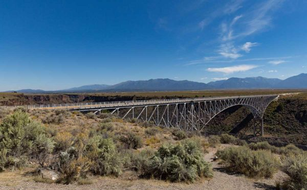 Picture of the Rio Grande Gorge Bridge